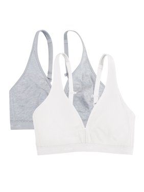 Womens Light Lined Wirefree Bra, 2-pack, Style FT799PK
