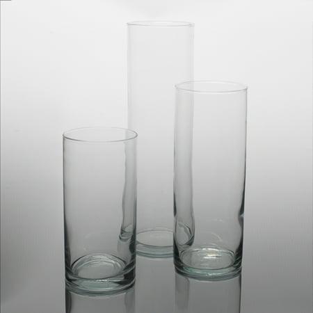 Eastland Wide Cylinder Vase 5 Set Of 3 Walmart