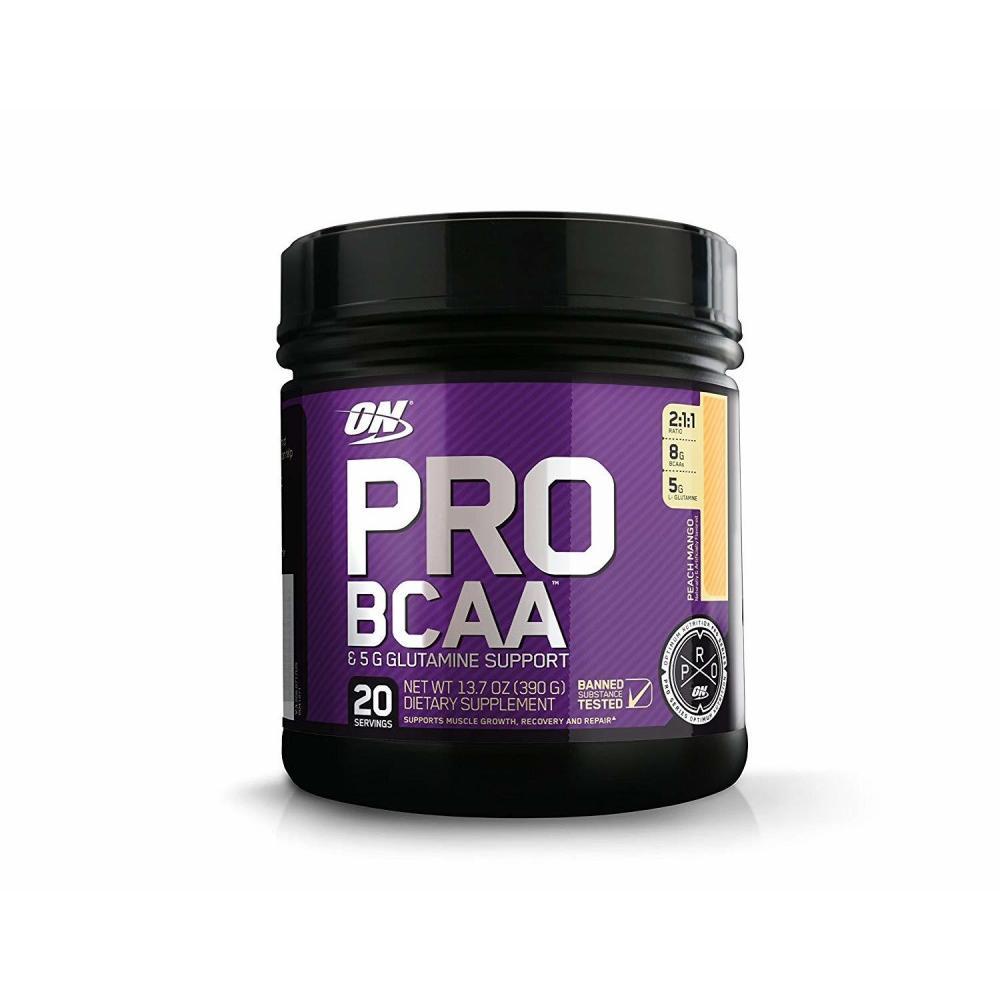 Optimum Nutrition Pro BCAA, Peach Mango, 20 Servings