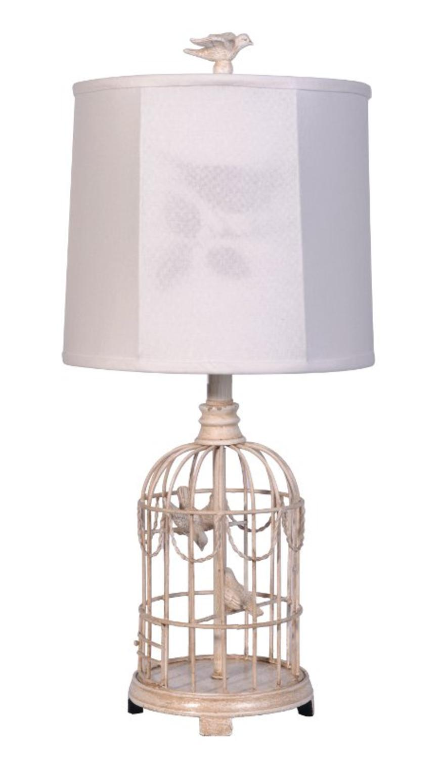 Set of 2 country cottage bird cage table lamps with white fabric set of 2 country cottage bird cage table lamps with white fabric shadow shades walmart geotapseo Image collections