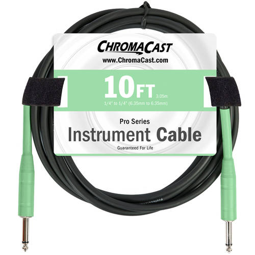 ChromaCast Pro Series Instrument Cable, Straight-Straight by Generic