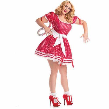 Plus Size Wind-up Doll Costume, Wind Up Doll - Halloween 280