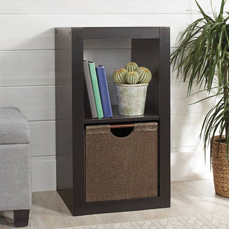(Set of 2) Better Homes and Gardens 2 Cube Storage Organizer, Multiple Colors