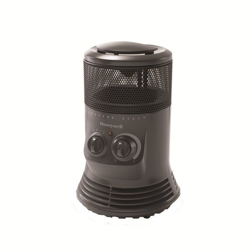 Honeywell Portable Electric Fan Compact Heater with Adjustable Thermostat