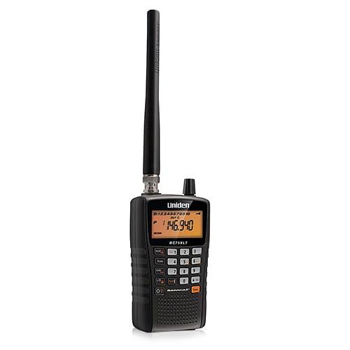 Uniden Bearcat BC75XLT Portable Compact Handheld Scanner w/ RF Capture Technology
