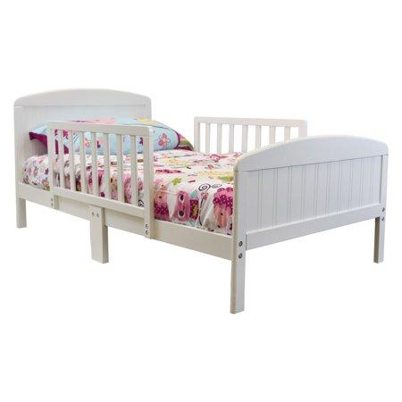 Russell Children Harrisburg XL Wooden Toddler Bed White