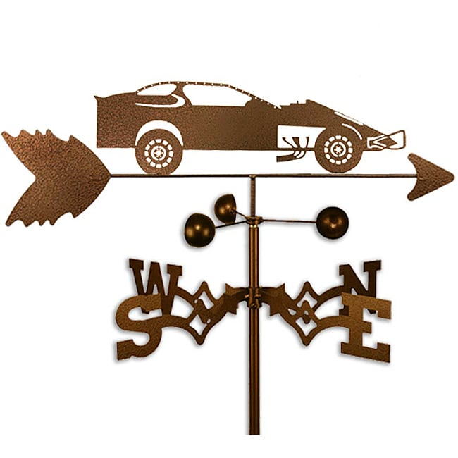 SWEN Products Hand Made Stock Race CAR Racing Side Mount Weathervane ~New