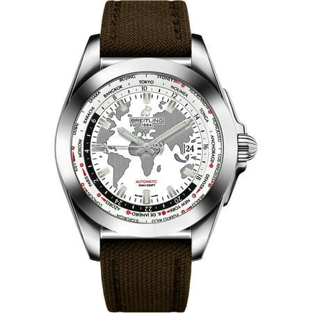 Breitling Galactic Unitime Men's Watch WB3510U0/A777-108W Breitling Galactic Unitime Men's Watch WB3510U0/A777-108W