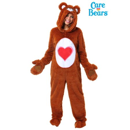 Care Bears Adult Classic Tenderheart Bear Costume (Care Bear Costumes For Teens)