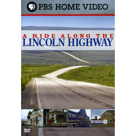 A Ride Along the Lincoln Highway (DVD) (Best Places To Stop Along Highway 1)