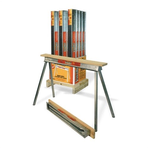 Fulton QP4230-12 Sawhorse, Heavy-Duty Galvanized Steel, 30-In. by Fulton Corporation