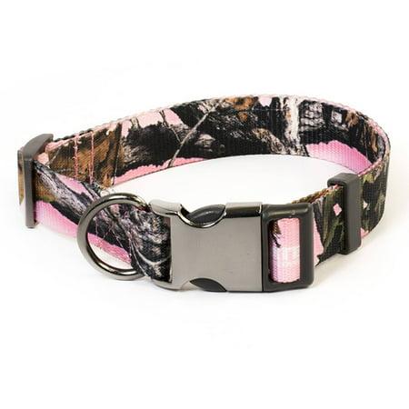 Pet Champion Medium 14 20  Hunting Collar  Strategy Pink Camo