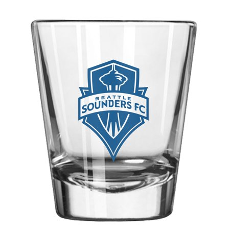 Seattle Sounders FC 2oz. Collectible Game Day Shot Glass - No Size - Custom Printed Shot Glasses No Minimum