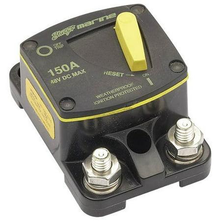 Deluxe Swinger - Stinger 150-Amp Marine Circuit Breaker