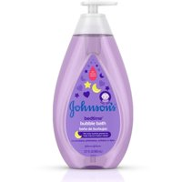 2 Pack - JOHNSON'S Hypoallergenic Bedtime Baby Bubble Bath with NaturalCalm Aromas 27.10 oz