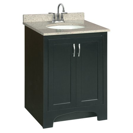 Design House 541235 Ventura Unassembled 2 Door Vanity Without Top 24 Espresso