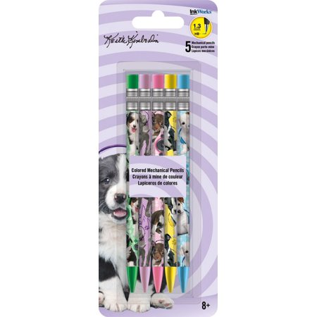 Colored Mechanical Pencils - Keith Kimberlin Puppies - 5Pcs Toys Gifts  - Mechanical Toys