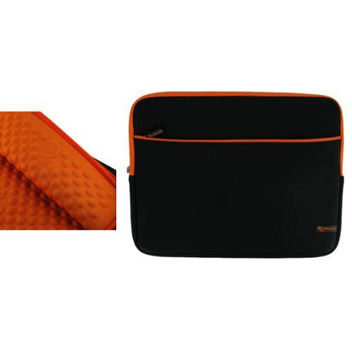 "rooCASE Super Bubble Shock Absorb Foam Neoprene Sleeve Case 13.3"" Laptop Notebook Bag for Apple MacBook Pro MC374LL/A MC375LL/A 13.3-Inch, Black /"