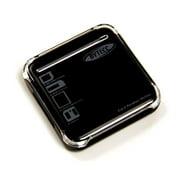 Bytecc U2CR-520 Palm-sized USB2.0 52-IN-1 Card Reader- Black- Support SDHC- T-Flash