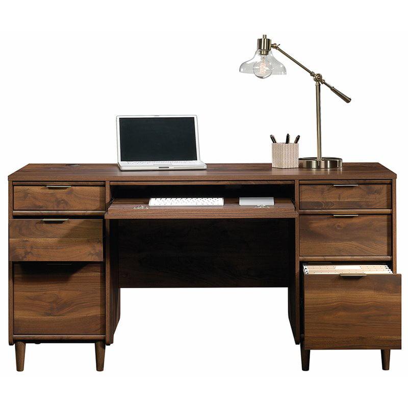 Sauder Clifford Place Computer Desk, Walnut Computer Desk