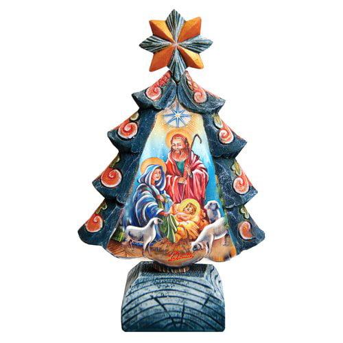 The Holiday Aisle Fifield Nativity Tree Figurine