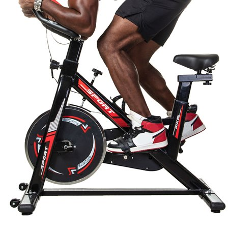 Fitness Exercise Bicycle Indoor Bike Excersize Bike Cycling Cardio Adjustable Weight Loss for Home Gym Cardio Workout Machine