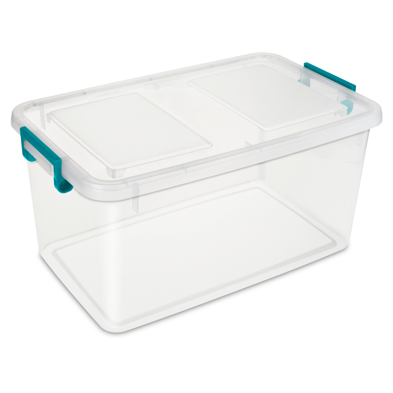Sterilite 51 Quart 48 Liter Modular Latch Box Walmart Com