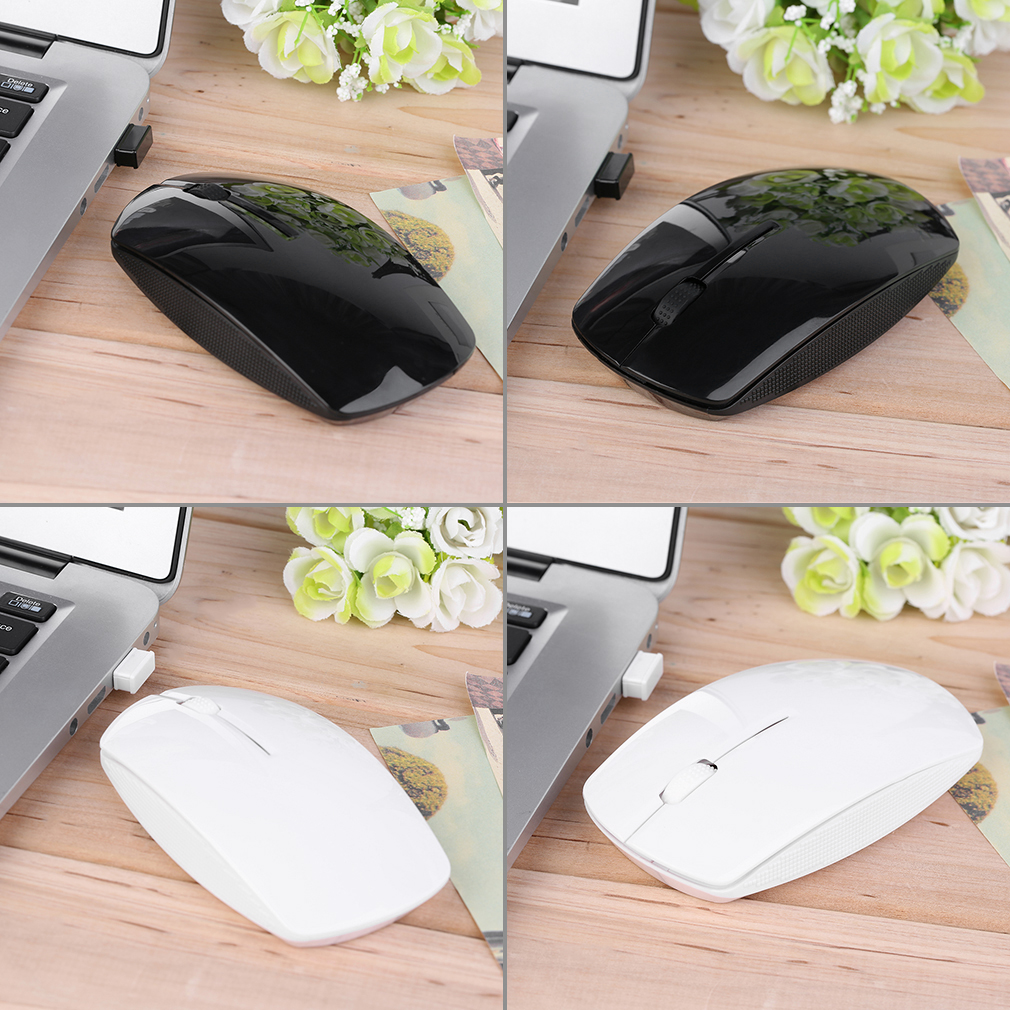 2.4GHz 6 Buttons Wireless Mouse Mice for Laptop PC Computer+USB Receiver