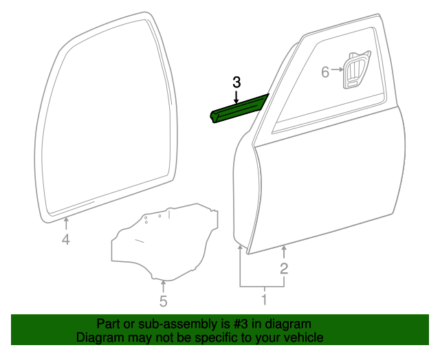 Disc Brake Pad Set-OEX Disc Brake Pad Front Wagner OEX1286