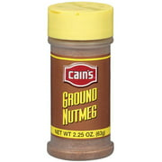 Cains Ground Nutmeg, 2.25 oz