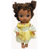 Doll Clothes Superstore Yellow Belle Inspired Princess Dress Fits Little Baby And Baby Alive Dolls