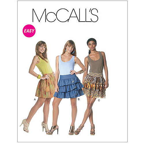 McCall's Pattern Misses' Skirts, EE (14, 16, 18, 20)