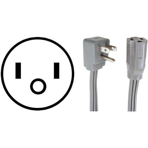 Certified Appliance 15-0309 Appliance Extension Cord, 9'