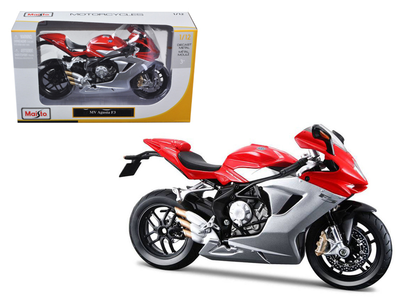 2012 MV Agusta F3 Red Bike Motorcycle 1 12 Diecast Model by Maisto by Diecast Dropshipper