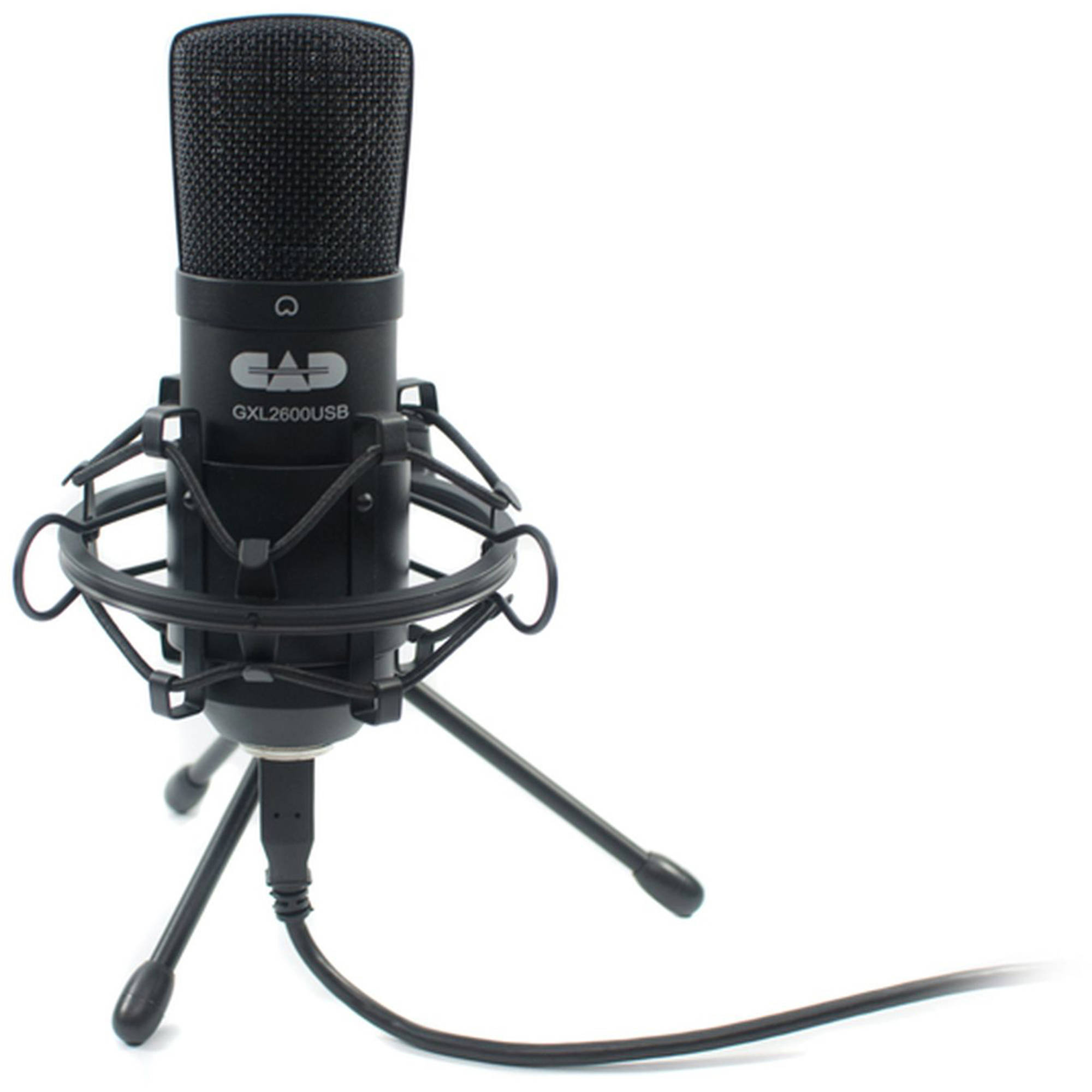 Premium USB Large Diaphragm Cardioid Condenser Microphone with Tripod Stand, 10' USB Cable