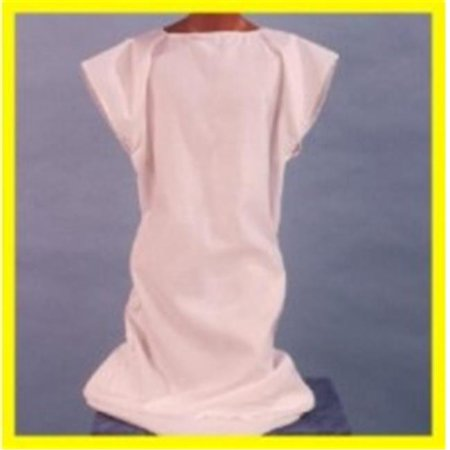 Alexander Costume 16-012 Mens Short Sleeve Gown, White