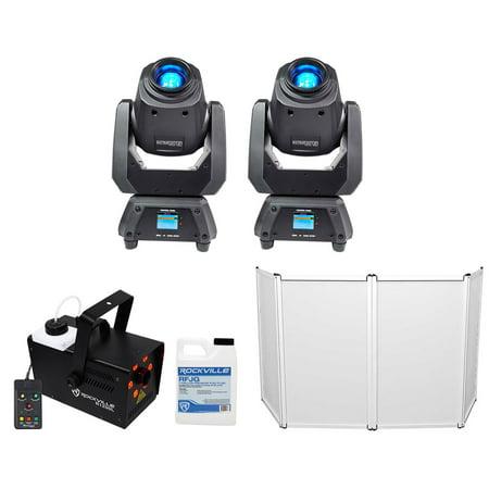 (2) Chauvet Intimidator Spot 260 Moving Head Lights+Facade+Fogger+Gal (2 Moving Head)