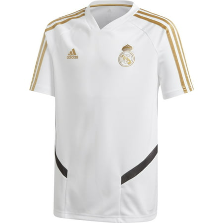 adidas Youth Real Madrid '19 White Training Jersey