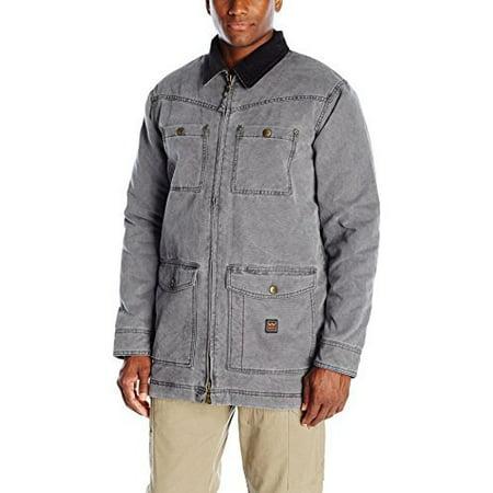 Men's Redford Vintage Duck Barn Coat, Washed Graphite, X-Large (Barn Coats)