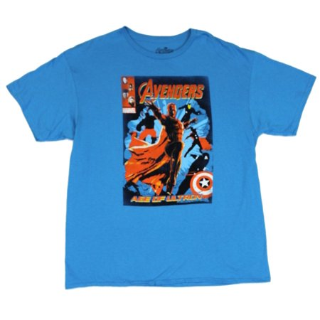 The Avengers (Marvel Comics) Mens T-Shirt  - Behold Vision Age of Ultron