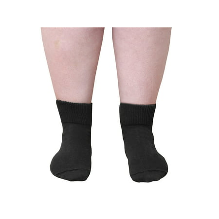 Extra Wide Sock Co. Women's Bariatric Diabetic Quarter Length Socks - Up to 24