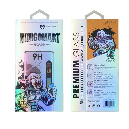 WINGOMART Premium Tempered Glass Screen Protector for Huawei P20 Pro - 2 Pack - image 1 of 5