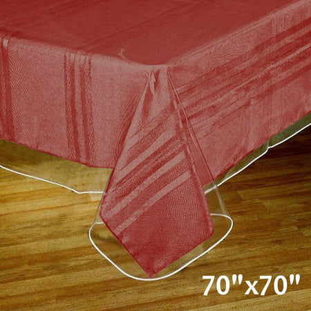 BalsaCircle Clear Plastic Vinyl Tablecloth Protector Table Cover - Party Events Table Covers Decorations