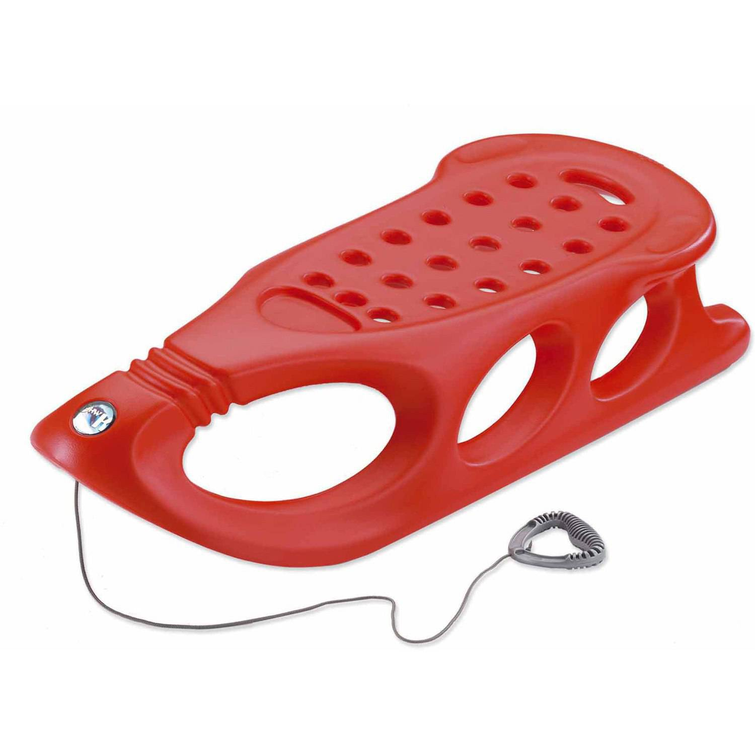 Snow Shuttle Sled, Red