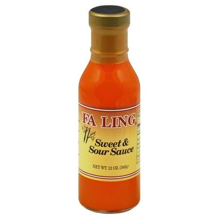 Fa Choy Fa Ling  Sweet & Sour Sauce, 12 oz