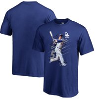 Corey Seager Los Angeles Dodgers Fanatics Branded Youth Fade Away T-Shirt - Royal