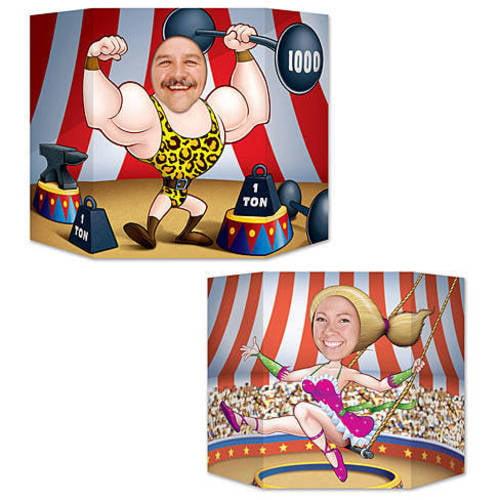 Circus Couple Photo Prop