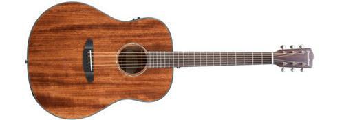 Breedlove Pursuit Dreadnought Mahogany Acoustic-Electric Guitar Mahogany Top by