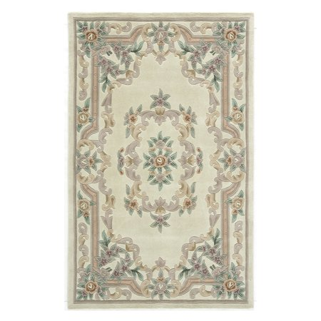 Rugs America New Aubusson Tufted Wool -