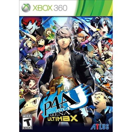 Persona 4 Arena Ultimax (Xbox 360) (Persona 4 Arena The Ultimax Ultra Suplex Hold)